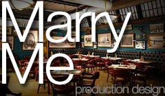 Marry Me - Production Design by Denise Pizzini